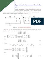 algoritmo paar la formacion matriz de admitancia