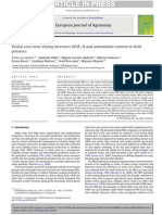 Partial Root-zone Drying Increases WUE, N and Antioxidant Content in Field Potatoes