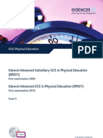 U025115 GCE Physical Education Issue 4 090810