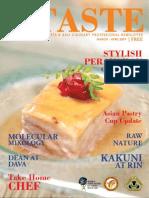 TASTE07 Newsletter