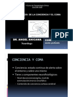 FISIOPATOLOGÍA DE LA CONCIENCIA Y COMA