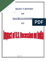 Recession In India