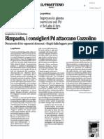 Rassegna Stampa 09.05.13