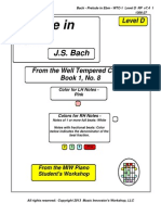 RP - Bach-Prelude in Ebm WTC-1 No. 8 Lvl D V7.4 1306-27