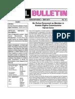 PUCL Bulletin May 2013