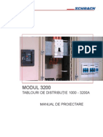 Manual de Proiectare Modul 3200 - Tablouri de Distributie