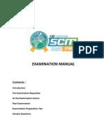 Exam Manual