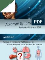 Acronym Sindromes