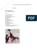 Disco de Sarah Brightman