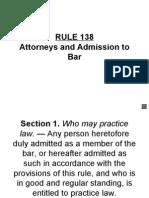 Rule 138