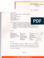Joint Mention in WP 18810 of 2010 at Madras High Court