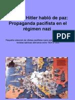 Cuando Hitler habló de paz