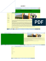 HTML Project on business schools