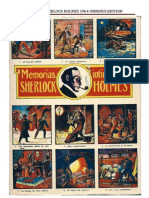 Some covers of Mexican Sherlock Holmes Omnibus Editions 1-10 (1964) 150 stories