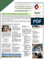 fcshd postgraduate  learning sciences
