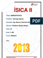 3° Laboratorio De Fisica 2 (Hidrostática) - http://www.facebook.com/YorSergio12.docx