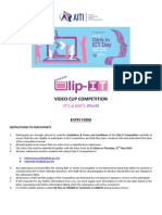Entry Form (AITI VIDEO CLIP COMPETITION)