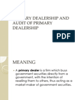 IIA Audit of Primary Dealership