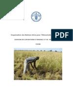 Multiplication et fourniture de semences dans une perspective d'aide au retour  OSRO/CHD/802/FRA  RAPPORT FINAL  Octobre 2009