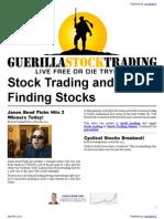 Stock Trading and Economic Analysis
