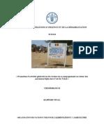 DIVISION DES OPÉRATIONS D'URGENCE ET DE LA RÉHABILITATION TCHAD « Promotion d'activités génératrices de revenus en accompagnement au retour des personnes déplacées à l'est du Tchad » CHD/09/001/01/34