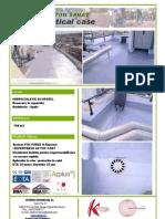 Atk-sistem Spray Polyurea h Acoperis
