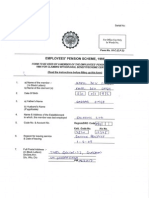 Sample PF form
