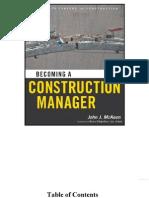 Construction Manager- John J.Mckeon