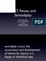 REST, Reuse, and Serendipity