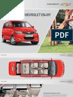 Chevrolet Enjoy Petrol Brochure