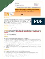 Alfabetizacion Cientifica SEGUNDO CICLO-Presentacion