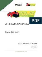 Rule Book Baja Saeindia-2014