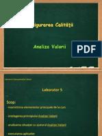 MC_Laborator 5 Aplicatie Analiza Valorii