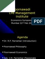 Poornawadi Life Management Institute.