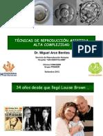 TÈCNICAS DE REPRODUCCIÓN ASISTIDA ALTA COMPLEJIDAD
