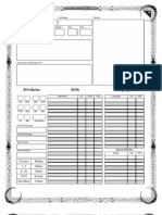 Talislanta 4E Form-Fillable Character Sheet