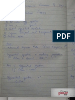 Ordinary Differential Equations & Fourier series