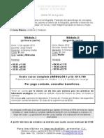 CURSO BÁSICO _INFORMACIÓN AGOSTO 2013