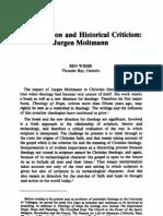 67. Interpretation and Historical Criticism - Jurgen Moltmann