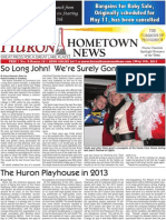Huron Hometown News - May 9, 2013