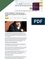 Procès Mediaset  Silvio Berlusconi condamné