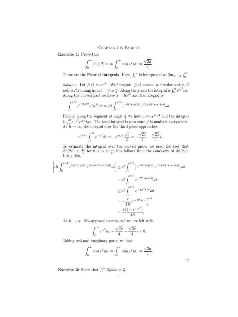 Stein and Shak Arch i Complex Analysis So Ln | Sine | Trigonometric  Functions