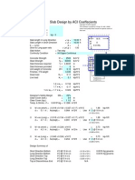 Slab Design ACI with Reinforcment (Sketch).xls