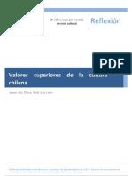 Valores Superiores de La Cultura Chilena
