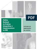 136615015 Politica Nacional de Praticas Integrativas e Complementares No SUS