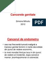 Cancerele genitale