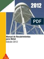 Manual Recubrimientos 2012 Sika
