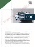 Manual Utilizare Audi A4 B7 05 08 Wwwclub Audiro