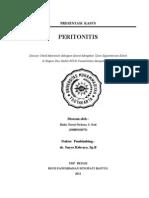 Handout Presentasi Kasus Peritonitis