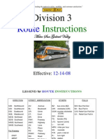 D03 Routes